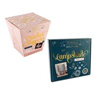 The Makery Crochet Slippers & Lampshade Craft Kit-458675