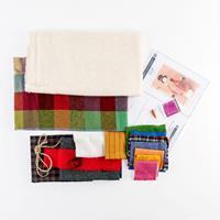 Fabric Affair Sid the Snowman Kit - 100% Wool - 18