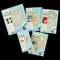 Spellbinders Designer Series 5 x Die Sets - The Rebel Rose Collec-459682