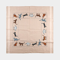Stitch Kits Curious Cats Table Cloth Cross Stitch Kit-462780
