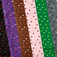Luv Crafts Set of 6 Polka Dot Fabrics In Assorted Colours - 115cm-463537
