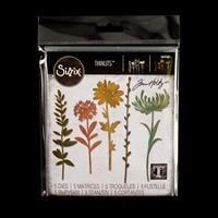 Sizzix® Thinlits™ Set of 5 Dies - Wildflower Stems #1 by Tim Holt-464013