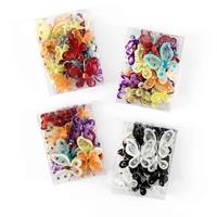 Craft Buddy Set of 4 Boxes of Wired Multicoloured Butterflies - A-464686