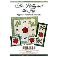 Quilter's Trading Post The Holly and the Ivy Christmas Applique P-464824