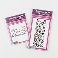 Stamps by Chloe Cherry Blossom Border Stamp Duo-464875
