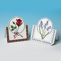 Nutmeg Cross Stitch Greeting Card Kit-466346