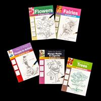 Search Press Set of 5 Books - How to Draw-467405
