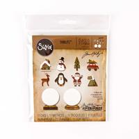 Sizzix® Thinlits™ Set of 11 Dies - Tiny Snowglobes by Tim Holtz ®-468099