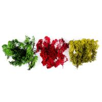 Artful Days Natural Moss - 40g Olive, 40g Red & 40g Dark Green-471839