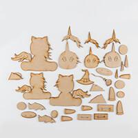 Karacter Krafts MDF Halloween Unicorns & Embellishments-472423