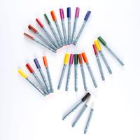 Zig® Set of 22 Suitto Crafters™ Fine, Medium & Calligraphy Tip Pe-473655