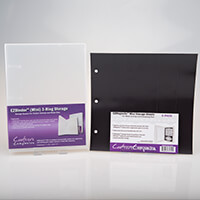 EZ Mini Magnetic Storage Binder with 3 EZ Magnetic Sheets-474987