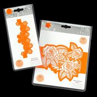 Tonic 2 x Sleeve Die Sets - Oasis of Roses & Daisy Chain - 5 Dies-477852