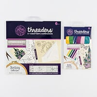 Threaders Embroidery Transfer Sheets & Cotton - 6 x Transfer Shee-480094