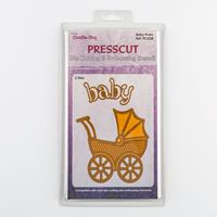 Crafts Too Baby Pram Die Set - 2 Dies-480783