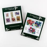 Rowandean Embroidery Flower Favourites Bundle - Includes Sparkles-482481