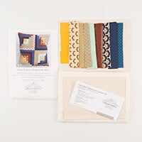 Beyond Fabrics Log Cabin Cushion Complete Kit-482937