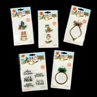 Tonic Essential 5 x Stamp Sets - Festive Friends Collection - 11 -483466