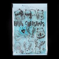 Mama Makes A Beary Good Christmas A5 Stamp Set - 12 Stamps-484018
