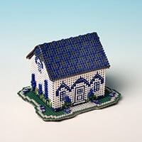 Nutmeg Cottage Cross Stitch Kit-484213