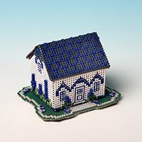 Nutmeg Cottage Cross Stitch Kit-484213
