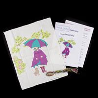 Dizzy & Creative Undercover Range Embroidery Kit-487754