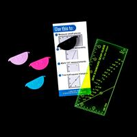 From Rags To Stitches Sew Standard Seam Guide Ruler & Smiley Seam-488687