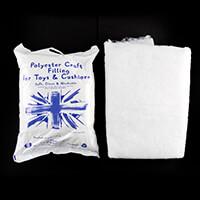 Sunnyside Fabrics Pack of 250g Toy Filling & 4oz Wadding - 40