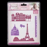 Sara Signature Parisian Die Set - Scenic France - 5 Dies-490426