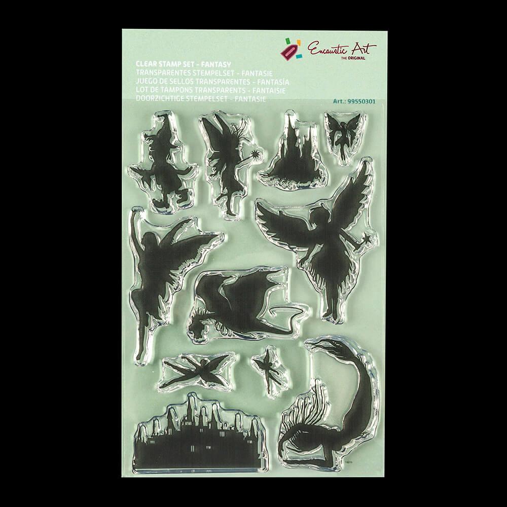 Encaustic Art Clear A6 Stamp Set-490841