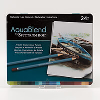 Spectrum Aquablend Pencils x 24 - Naturals-491466