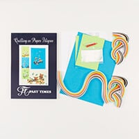 Past Times Quilling Terriers For Cards & Wall Art Quilling Kit-492351