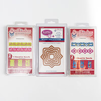 Spellbinders 3 x Die Sets   Contemporary Hearts  Nested Medallion-493862