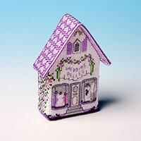Nutmeg Wedding Belles Fridge Magnet Cross Stitch Kit-494259