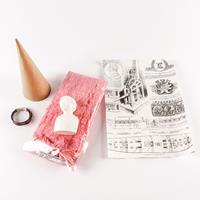 Powertex® Tree Angel Kits - Cardboard Cone, Wire, Paper Decoratio-495418