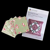 Axholme Quilting Spring Floral 5 Fat Quarter Collection with Patt-495449