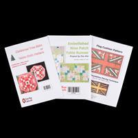 Tudor Rose Patchwork Trio Pattern Set-495795