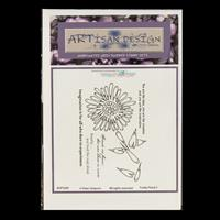 Artisan Design Funky Floral A6 Stamp Sheet - Funky 5-495931