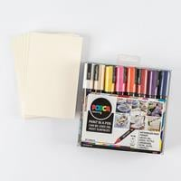 Posca 16 x PC-5M Bumper Pack with Free 10 x Postcard Mounts worth-496131