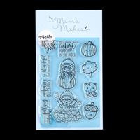 Mama Makes Autumnal Bella Stamp Set - 11 Stamps-496298