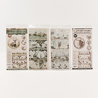 Luv Crafts Woodland Winter Shrink Wrap Collection - 16 x Shrink F-497341