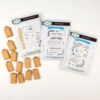 Creative Expressions 3 x John Lockwood Christmas Stamp Sets & MDF-497966