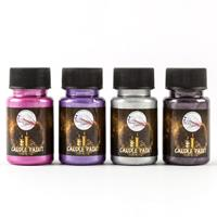 Imagination Crafts Starlight Candle Paints 4 x 50mls - Amethyst, -498178