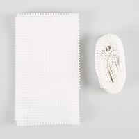 Eleganza Pearl Mesh - White or Ivory-499013