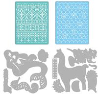 Sizzix® Thinlits™ Set of 11 Dies with 2 Embossing Folders - Cosmo-499610