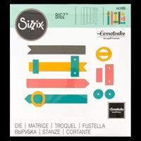 Sizzix® Bigz™ Die - Book Closures-499747