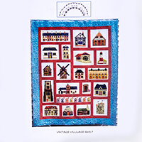 Daisy Chain Designs Vintage Quilt Pattern-501214