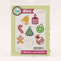 Impression Obsession Christmas Icons Dies-502279