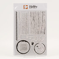 Hobby Art Becki's Backgrounds A5 Stamp Set - 10 Stamps-503730