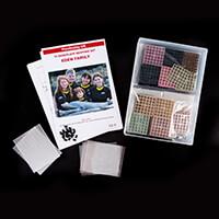 PixelHobby UK 16 Baseplate Kit - 16 Baseplates, 36 Joiner Clips &-505716